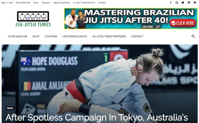 Jiu-Jitsu Times Blog Work